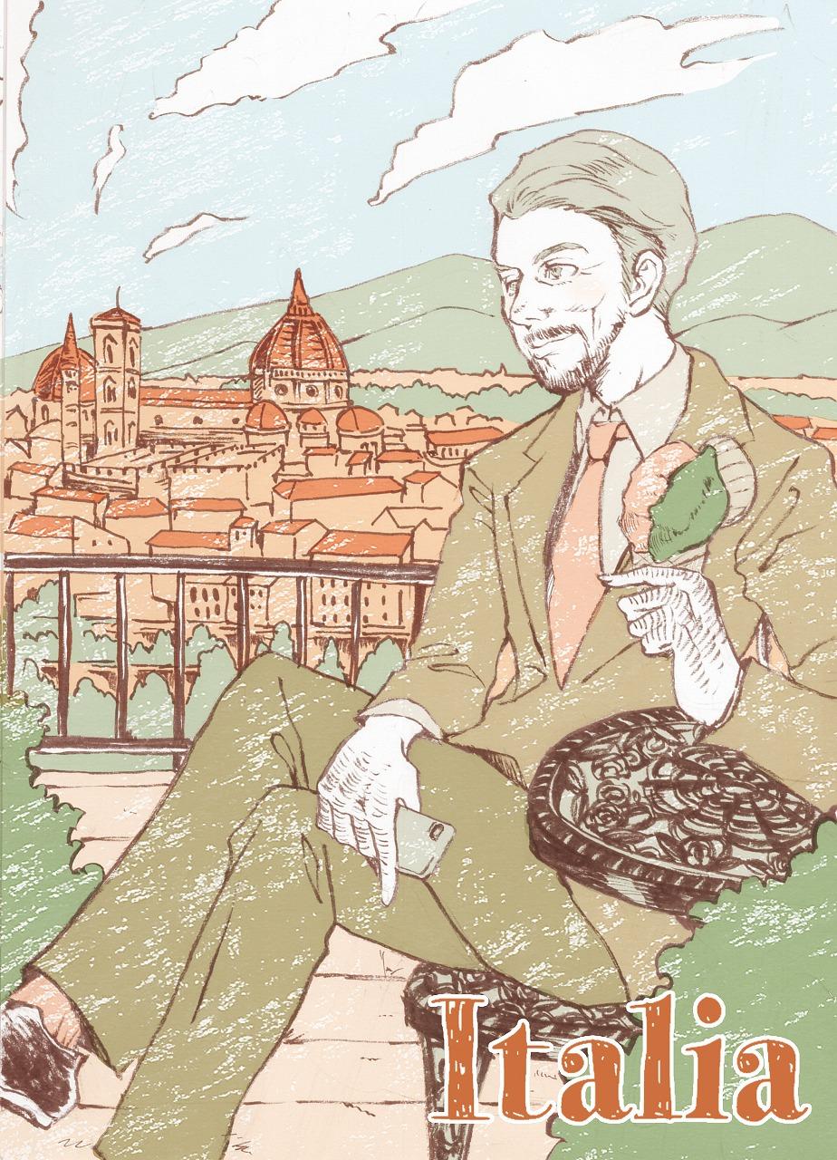 【世界のおじちゃん】ジェラートを楽しむアントニオ(イタリア)