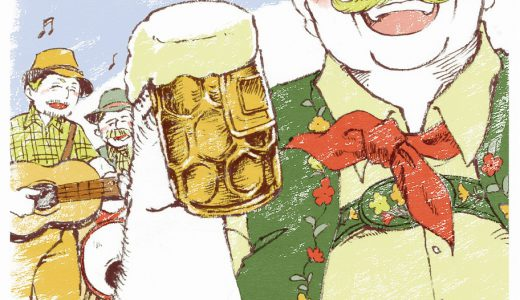【世界のおじちゃん】オクトーバーフェストで乾杯!のハインツ(ドイツ)